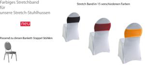 Stretchband für unsere Stretchstuhlhussen